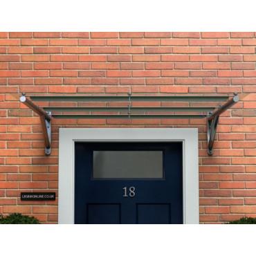 Limeslade Polycarbonate Door Canopy DDA Act Compliant