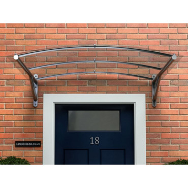Tenby Arched Polycarbonate Door Canopy