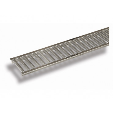 Hexdrain and Raindrain Polished Stainless Steel Grating Only