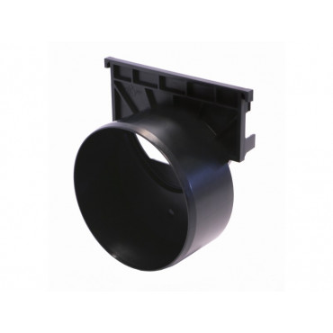 Hexdrain and Raindrain Outlet endcap 110mm