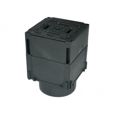 Hexdrain Brickslot Plastic A15 Corner Unit