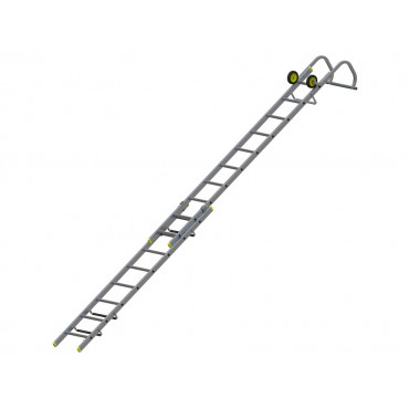 57663000 Double Section Roof Ladder 3.21m