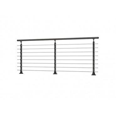 Prova 8 Floor Mounted Handrail/Banister System Starter Kit 2 Metre