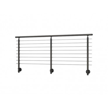 Prova 8 Wall Mounted Handrail/Banister System Extention Kit 2 Metre