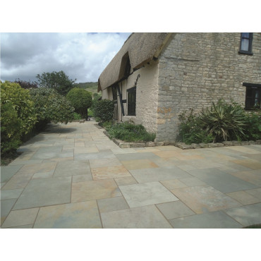 Abbey Premium Limestone Natural Stone Paving Pack 15m2