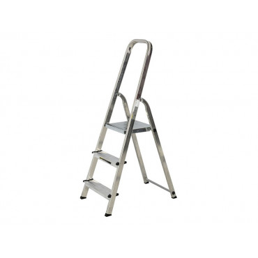 Aluminium Step Ladder Light Trade - Various Sizes