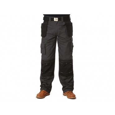 Black & Grey Holster Trousers