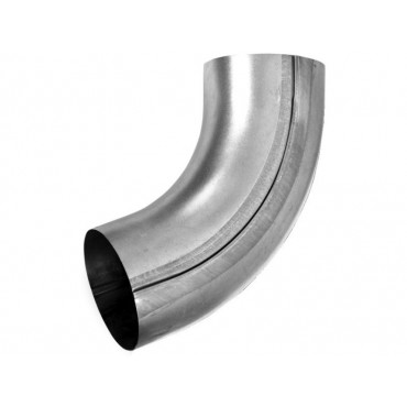 Steel Circular Pipe Offset Bend 70 deg 100mm Diameter