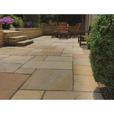 Buff Natural Sandstone Calibrated Contractors Pack 7.2m2