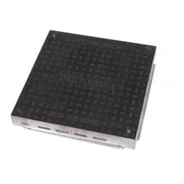 450 X 450 X 70MM B125 COMPOSITE MANHOLE COVER and FRAME CD263/SF/10