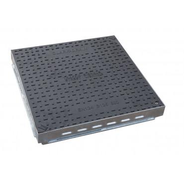 600 X 600 X 70MM B125 COMPOSITE MANHOLE COVER and FRAME CD265/SF/10