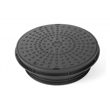 320mm Round Plastic Cover & Frame