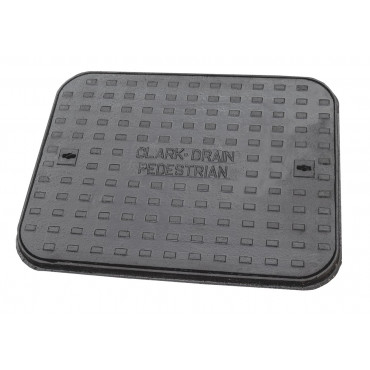 600 x 450 Solid Top Cast Iron Cover and Frame A15KN CD62