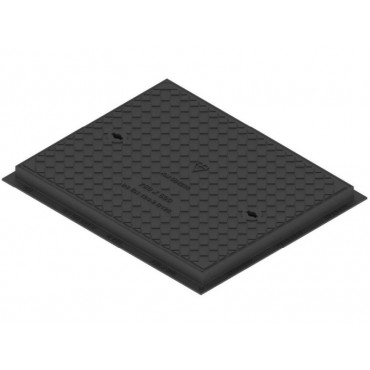 750 x 600 Solid Slide Out Cover and Frame B125KN CD722KMB