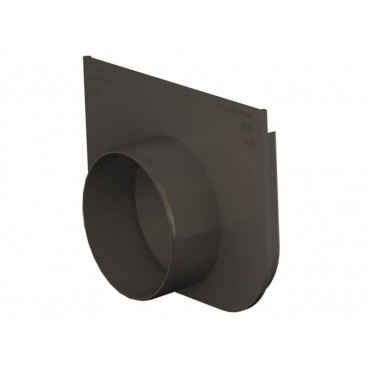 Technodrain 200mm HDPE Plain End Cap 310mm Height