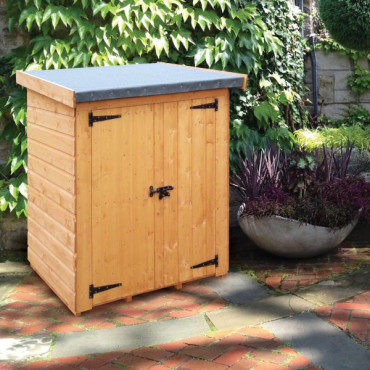 Clutterbox Treated Compact Storage Unit / Shelter 1.2 x 0.76m