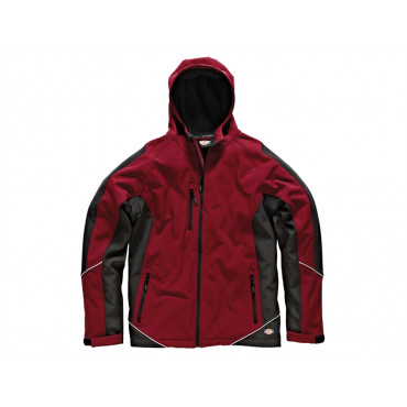 Two Tone Soft Shell Red/Black Jacket