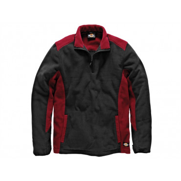 Two Tone Micro Fleece Red/Black