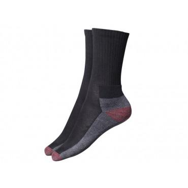 Cushion Crew Socks, Black (Pack 5)