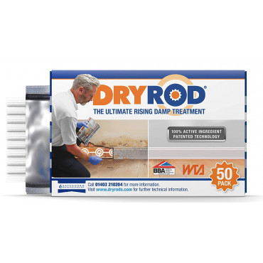 Dryrod Damp Proofing Rods Box of 50