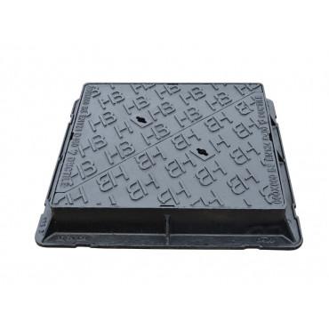 H Range D400 Double Triangular Access Cover 600 x 600 x 100