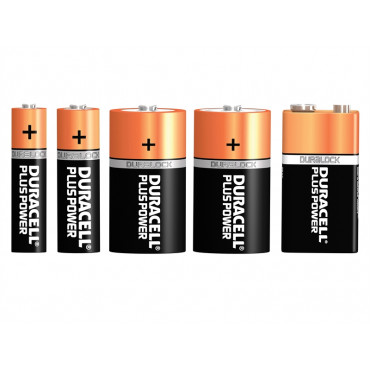 Plus Power +100% Batteries