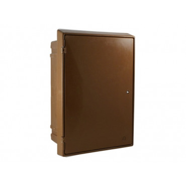 Built-In Electric Meter Box Brown EB0011B