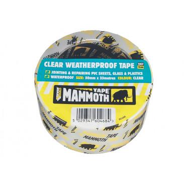 Clear Weatherproof Tape