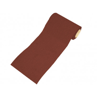 115mm Red Aluminium Oxide Rolls Hook & Loop