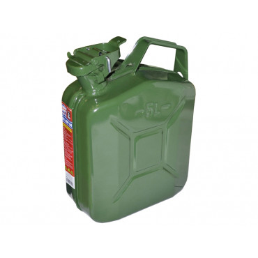 Green Jerry Cans - Metal