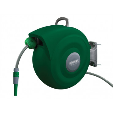 Auto Hose Reel With Wall Bracket 20m