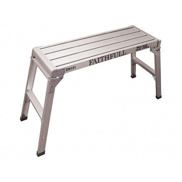 Fold Away Step Up Aluminium L100 x H52 x W30cm