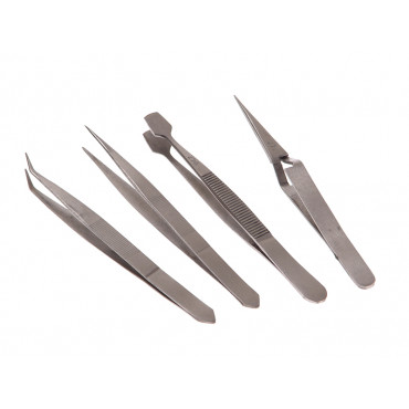 Tweezer Set of 4