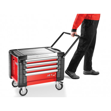 JET Mobile Chest 4 Drawer