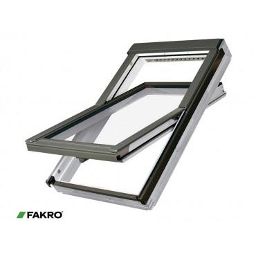 Centre Pivot FTW-V P2 White Acrylic Coated Roof Window