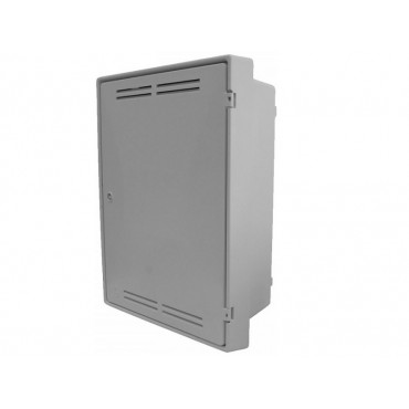 Built-In Gas Meter Box White GB0001