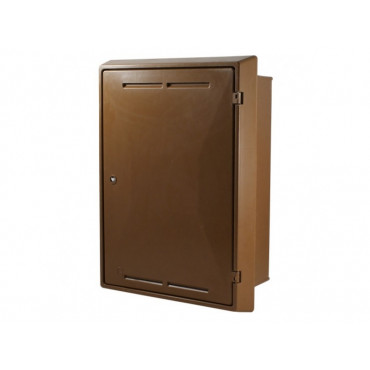 Built-In Gas Meter Box Brown GB00001B