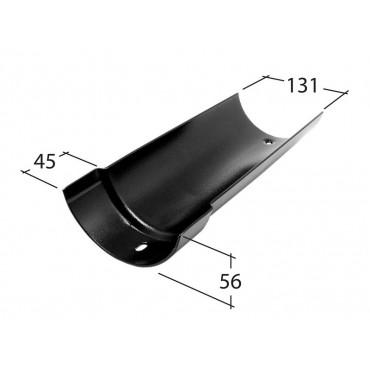 Traditional 125mm Half Round Gutter 1.83m