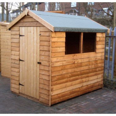 Cottage Overlap Treated Standard Storage Shed