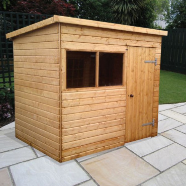 Major Pent Major Heavy Duty Shed