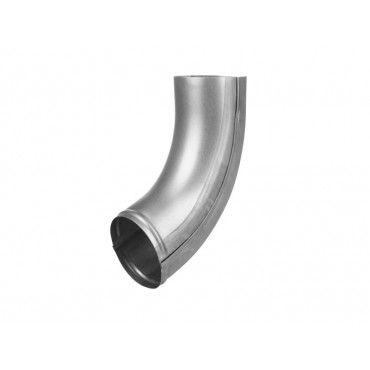 Steel Circular Pipe Shoe 184mm 100mm Diameter