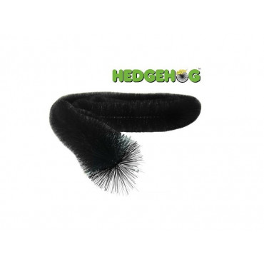 Hedgehog Gutter Brush - Black 4m Lengths