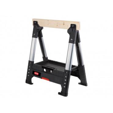 Lumberjack Adjustable Single Sawhorse