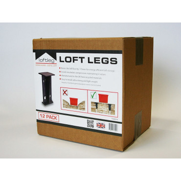 Loft Flooring Support Leg 175mm Pack of 12