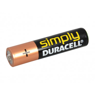 AAA Duracell Alkaline RePack MN2400 Batteries Pack of 4