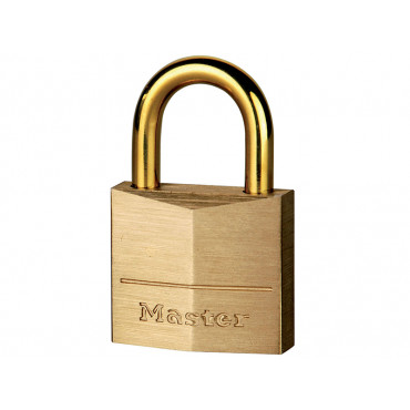 Solid Brass Padlocks With Brass Plated Shackles