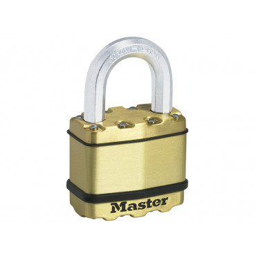 Excell Brass Finish Padlocks