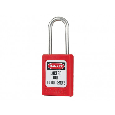 Lockout non-conductive padlock