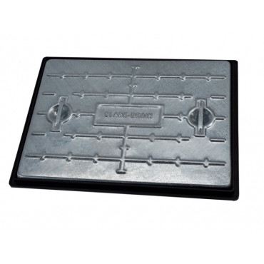 600 x 450mm 25T Galvanised Solid Top Manhole Cover PC6EG