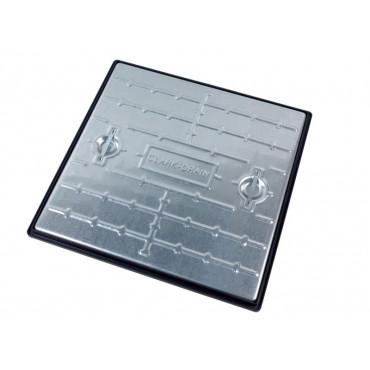 600 x 600mm Galvanised Manhole Cover & Frame Pedestrian PC7AG